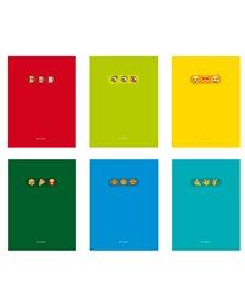 Maxiquaderno A4 20fg+1 80gr 1 rigo Emoji 2020 Blasetti