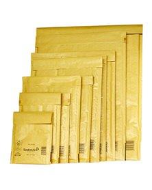 10 BUSTE IMBOTTITE GOLD E 22X26CM UTILE AVANA