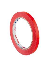 Nastro adesivo 9mm x 66m Rosso PVC 350 per sigillatura Eurocel