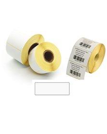 5.000 Etichette Trasf. Termico Diretto f.to 40x12mm - 2 piste - Printex