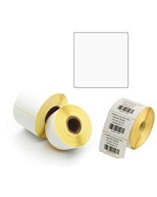 500 Etichette Trasf. Termico Diretto f.to 100x100mm - 1 pista Printex
