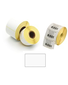 1.000 Etichette film OPP Trasf. Termico f.to 58x38mm - 1 pista - Printex