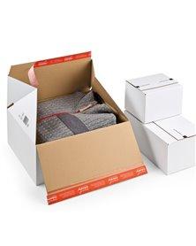Scatola per spedizione E-Commerce 18,4x14,9x12,7cm Bianco