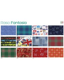 Scatola 100fg carta regalo Raso Fantasia 70X100cm SADOCH