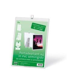 PORTADEPLIANT A4 IN PVC SEMIRIGIDO