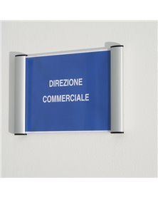 PORTA TARGA A5 - 15X21CM APPENDIBILE WALL SIGN