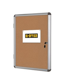 BACHECA PER INTERNI FONDO SUGHERO 9XA4 VERTICALE Bi-Office