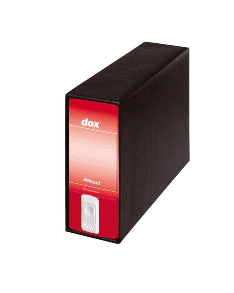 Registratore Dox 3 rosso dorso 8cm f.to memorandum Esselte