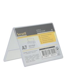 Display a V 7,8x10,6x6,7cm (A7) Securit
