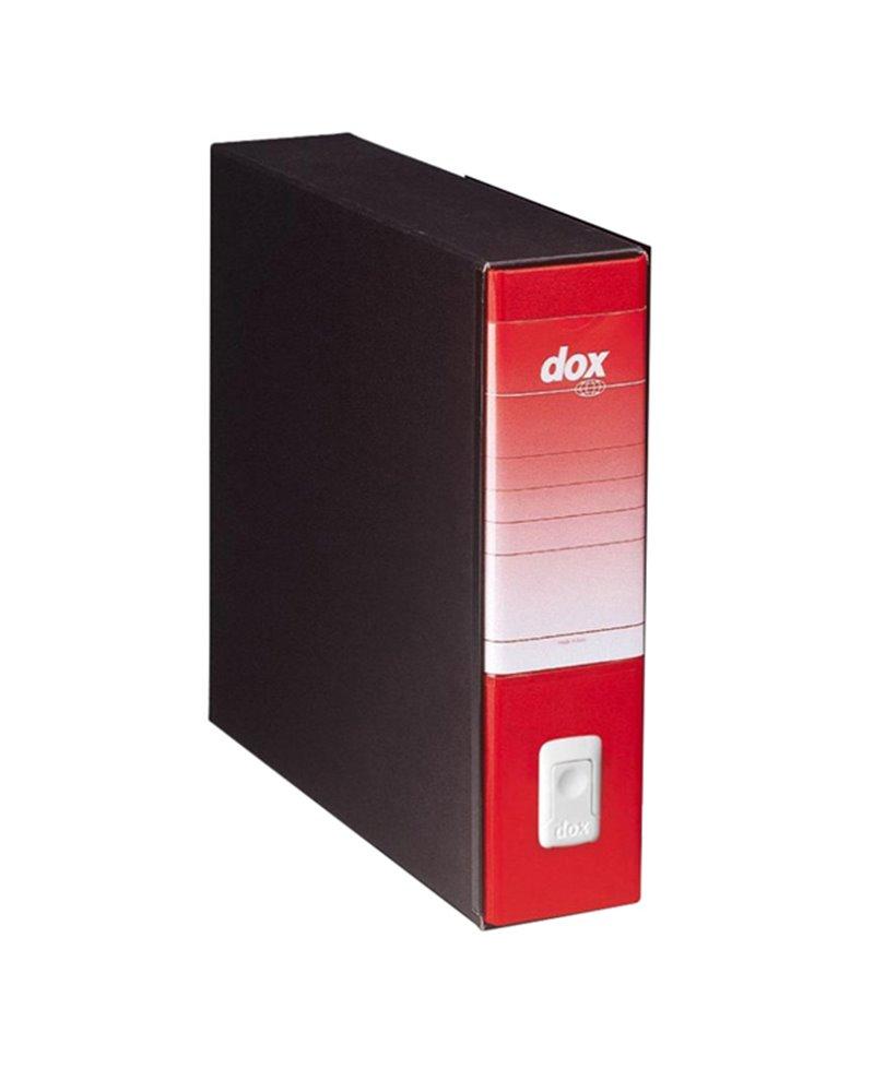 Registratore Dox 9 rosso 35x31,5cm dorso 8cm Esselte