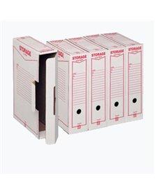 Scatola archivio STORAGE (1601) A4 85x315x223mm REXEL
