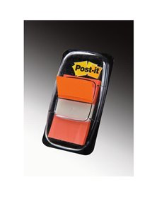 SEGNAPAGINA Post-it® 680-4 ARANCIO 25.4X43.6MM 50FG INDEX
