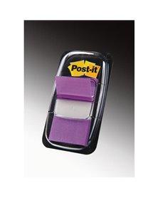 SEGNAPAGINA Post-it® 680-8 PORPORA 25.4X43.6MM 50FOGLIETTI