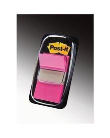 SEGNAPAGINA Post-it® 680-21 ROSA VIVACE 25.4X43.6MM 50FOGLIETTI