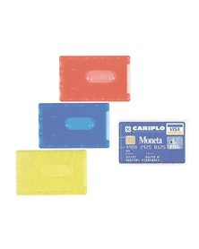 BUSTA PORTA CARDS 8,5X5,4 02/7828 PVC RIGIDO COL.ASSORTITI FAVORIT