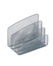 Sparticarte MESH in rete metallica argento ALBA