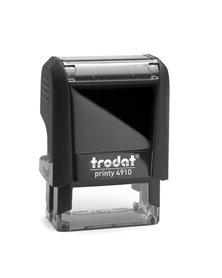 Timbro Original Printy 4.0 4910 26x10mm 3righe autoinch. personalizzabile TRODAT