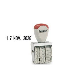 Timbro 1010 manuale DATARIO 4mm TRODAT