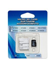MICRO SD CARD aggiornamento 100/200€ verificabanconote HT1000