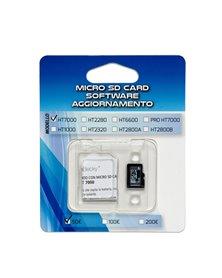 MICRO SD CARD aggiornamento 100/200€ per verificabanconote HT7000