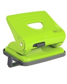 Perforatore 825 2 fori verde max 25 fg Rapesco
