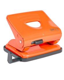 Perforatore 825 2 fori arancio max 25 fg Rapesco