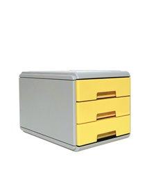 Mini cassettiera Keep Colour Pastel GIALLO Arda