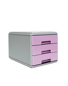 Mini cassettiera Keep Colour Pastel LILLA Arda