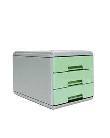 Mini cassettiera Keep Colour Pastel VERDE Arda
