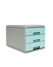 Mini cassettiera Keep Colour Pastel AZZURRO Arda