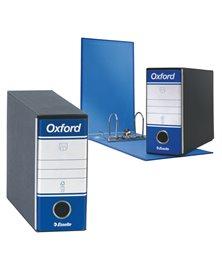 Registratore OXFORD G81 blu dorso 8cm f.to memorandum ESSELTE