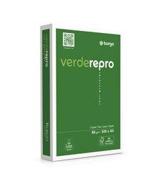 CARTA FOTOCOPIE BURGO VERDE REPRO 80S 210X297MM 80GR