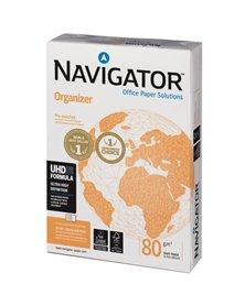 CARTA NAVIGATOR organizer 4 Fori A4 80gr 500FG 210X297mm