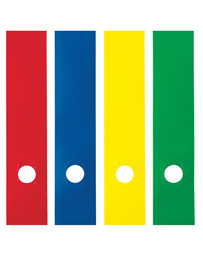 Busta 10 copridorso CDR-P PVC adesivi verde 7x34,5cm SEI ROTA