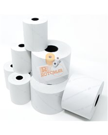 Rotolo bilancia carta termica BPA free NVCSF 60mm x 90mt Ø88mm F25mm