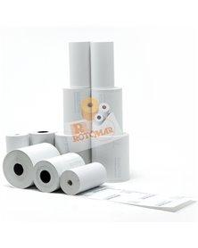 Blister 10 rotoli carta termica 55gr BPA free 57mm x 20mt (POS/carte credit)
