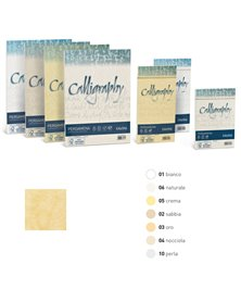 Carta CALLIGRAPHY PERGAMENA 90gr A4 50fg sabbia 02 FAVINI