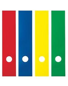 Busta 10 copridorso CDR-P PVC adesivi blu 7x34,5cm SEI ROTA
