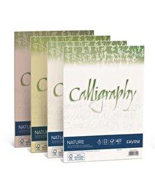 Carta CALLIGRAPHY NATURE A4 50fg 100gr agrumi FAVINI