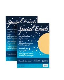 Carta metallizzata SPECIAL EVENTS A4 10fg 250gr azzurro FAVINI