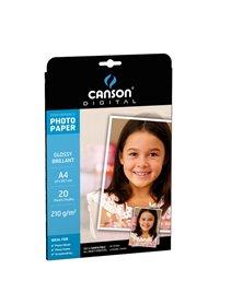 CARTA INKJET A4 210GR 20FG PHOTO GLOSSY PERFORMANCE CANSON