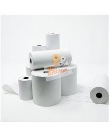 Blister 10 rotoli carta termica neutra 55gr BPA free 80mm x 80mt Ø77mm