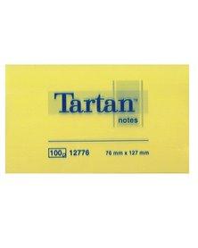 BLOCCO TARTAN (TM) 12776 GIALLO 76X127MM 100FG 63GR