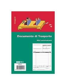 BLOCCO DDT 50/50 FOGLI AUTORIC. 23X15 E5214C