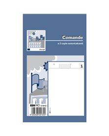BLOCCO COMANDE 25/25 FOGLI AUTORIC. 17X9,9 E5913