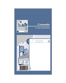 BLOCCO COMANDE 25/25/25 FOGLI AUTORIC. 17X9,9 E5916