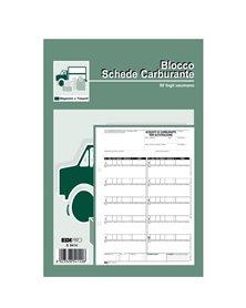 BLOCCO CARBURANTE 50 FOGLI 23X14,8 E5414