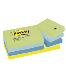 BLOCCO 100foglietti Post-it® 38x51mm 653-MTDR DREAM 72GR ASSORTITO