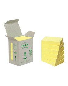 BLOCCO 100foglietti Post-it® Notes Green 38x51mm 653-1B GIALLO