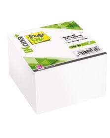 Cubo foglietti carta bianca 700fg 9,5x9,5cm CWR